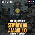 Image for the Tweet beginning: URGENTE... Santo Domingo pasará a