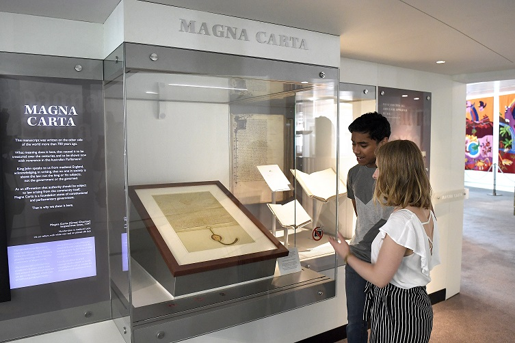 The Magna Carta is the foundation of modern government. Parliament House holds the only Magna Carta in the southern hemisphere – a 1297 Inspeximus edition issued by Edward I. Learn more about this fascinating document in our online exhibition here: ow.ly/8Wj950zM5Ql