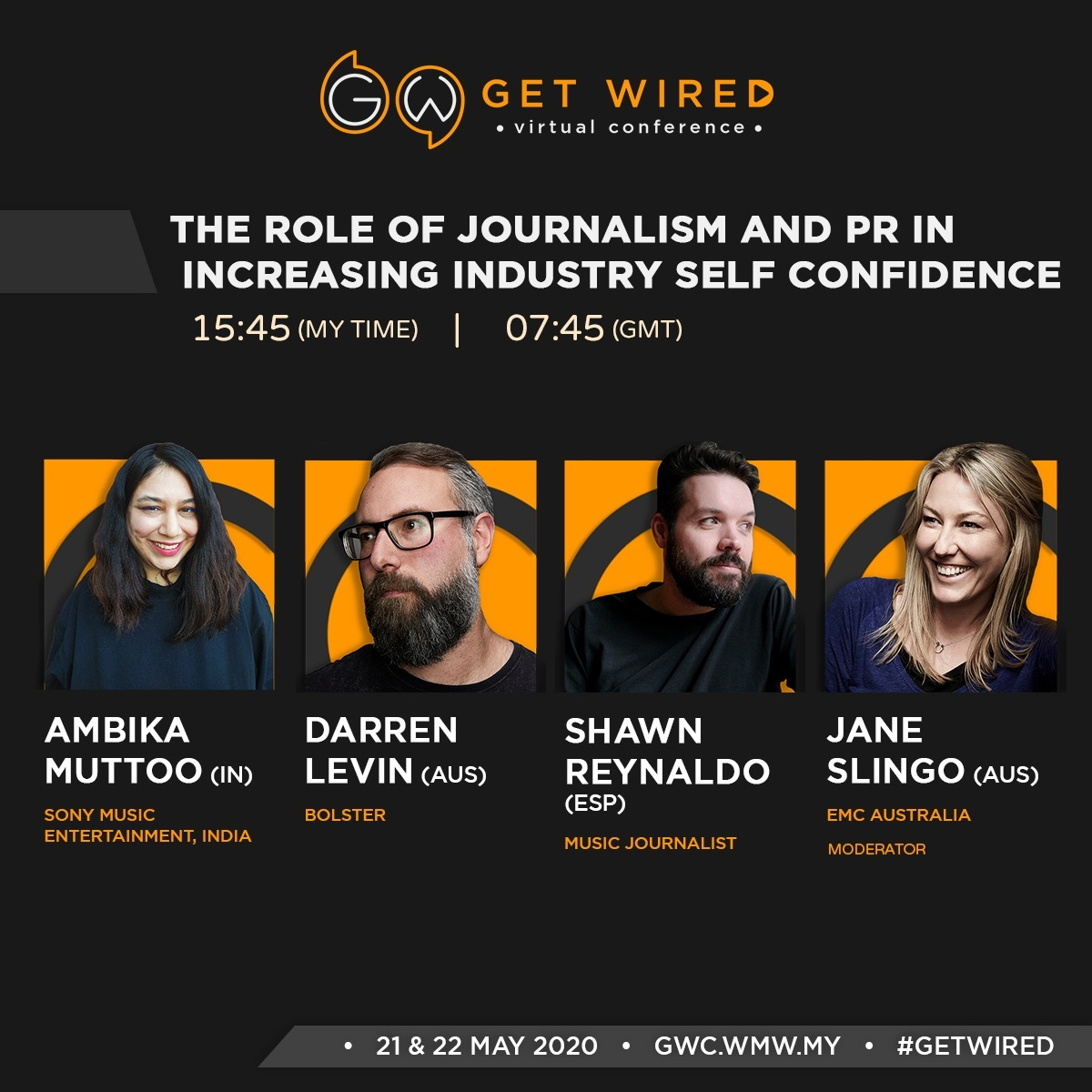 "Our Head of Content & Publishing @darren_levin joins other industry experts on @wiredmusicweek panel ""The Role Of Journalism and PR in Increasing Industry Self Confidence"" tonight at 5:45 pm AEST. Register here: https://t.co/lkdMZj8vU2  #wiredmusicweek #musicindustry https://t.co/XWe50VQeiE"