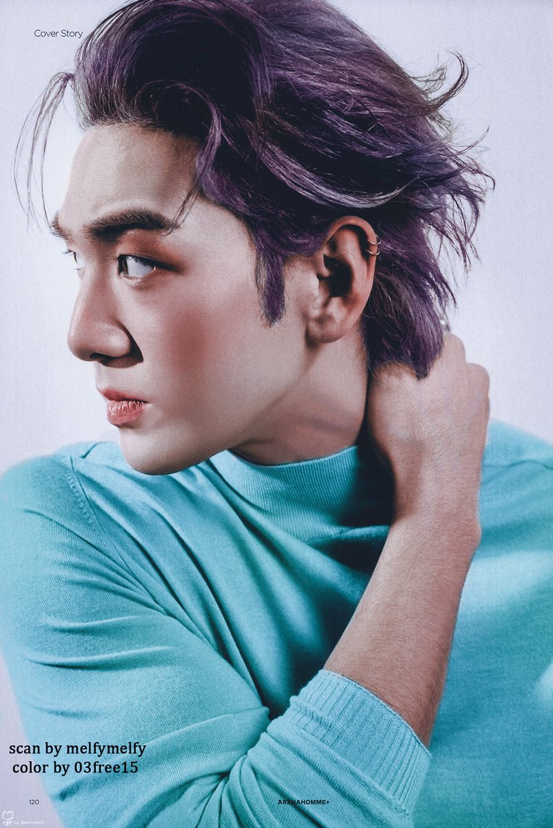 arena homme baekho color ver.  scan by @melfymelfy 님 color by @03free15  do not reupload <br>http://pic.twitter.com/hws7cEvwQM