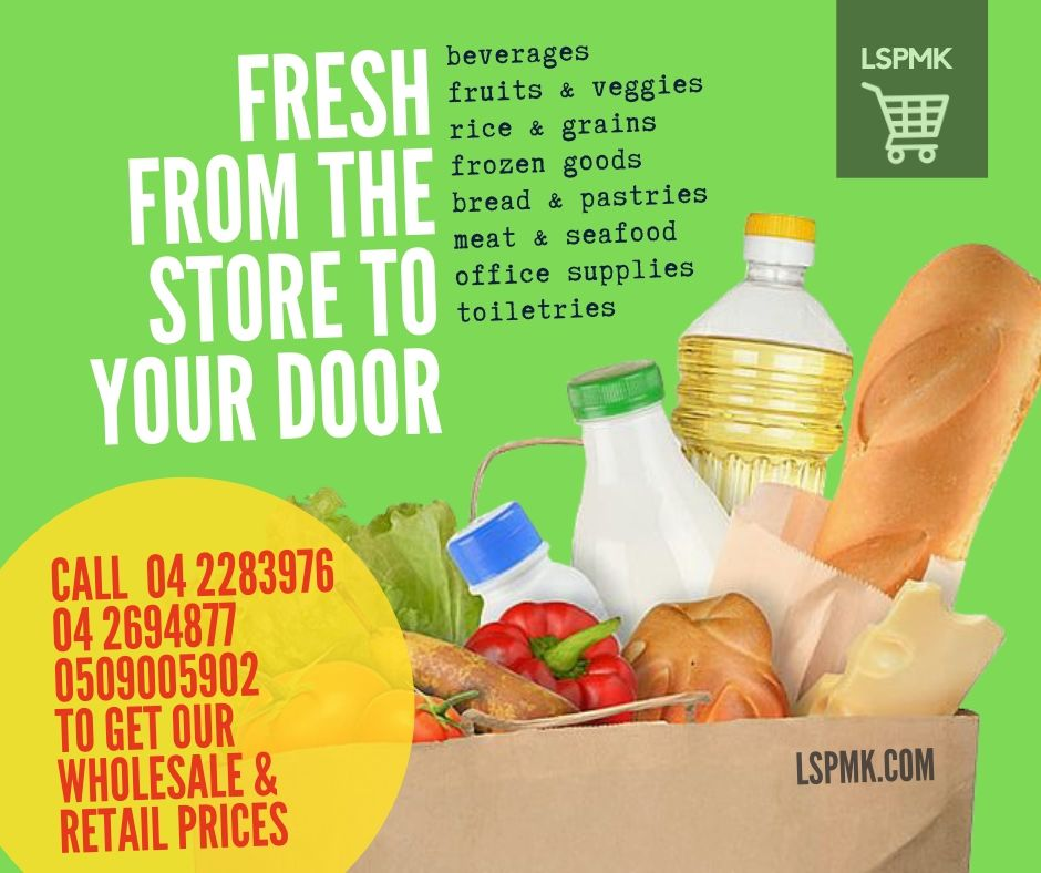 No need to step out to get your grocery in. We deliver to your doorstep. Call 04 2283976 / 04 2694877 / 0509005902  #groceries #lspmksuperfasttrading #groceryneeds #shopping #LSPMK #mydubai #groceryshopping #freedelivery #dubaifoodies #easyshoppingpic.twitter.com/xSbUPibhaW