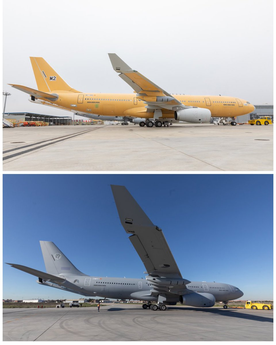 #beforeandafter painting of the  @A330_MMU #A330MRTT https://t.co/saeH4fjmSf https://t.co/zdf4TkNJGG