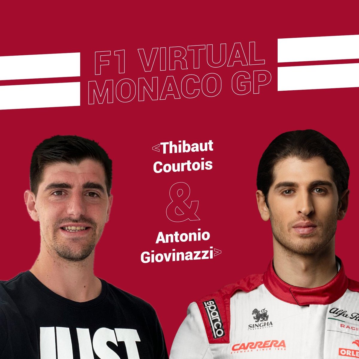 It's time to take on the streets of Monaco! ⚡️  @Anto_Giovinazzi and @thibautcourtois return to esports action this weekend at one of the most iconic circuits on the calendar! 🤩🇲🇨  Sunday 24 - 18:00h BST 🍿  @F1 #VirtualGP #F1Esports https://t.co/ZG6xnGbjnn