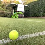 Image for the Tweet beginning: SISGRASS for Tennis! Second year