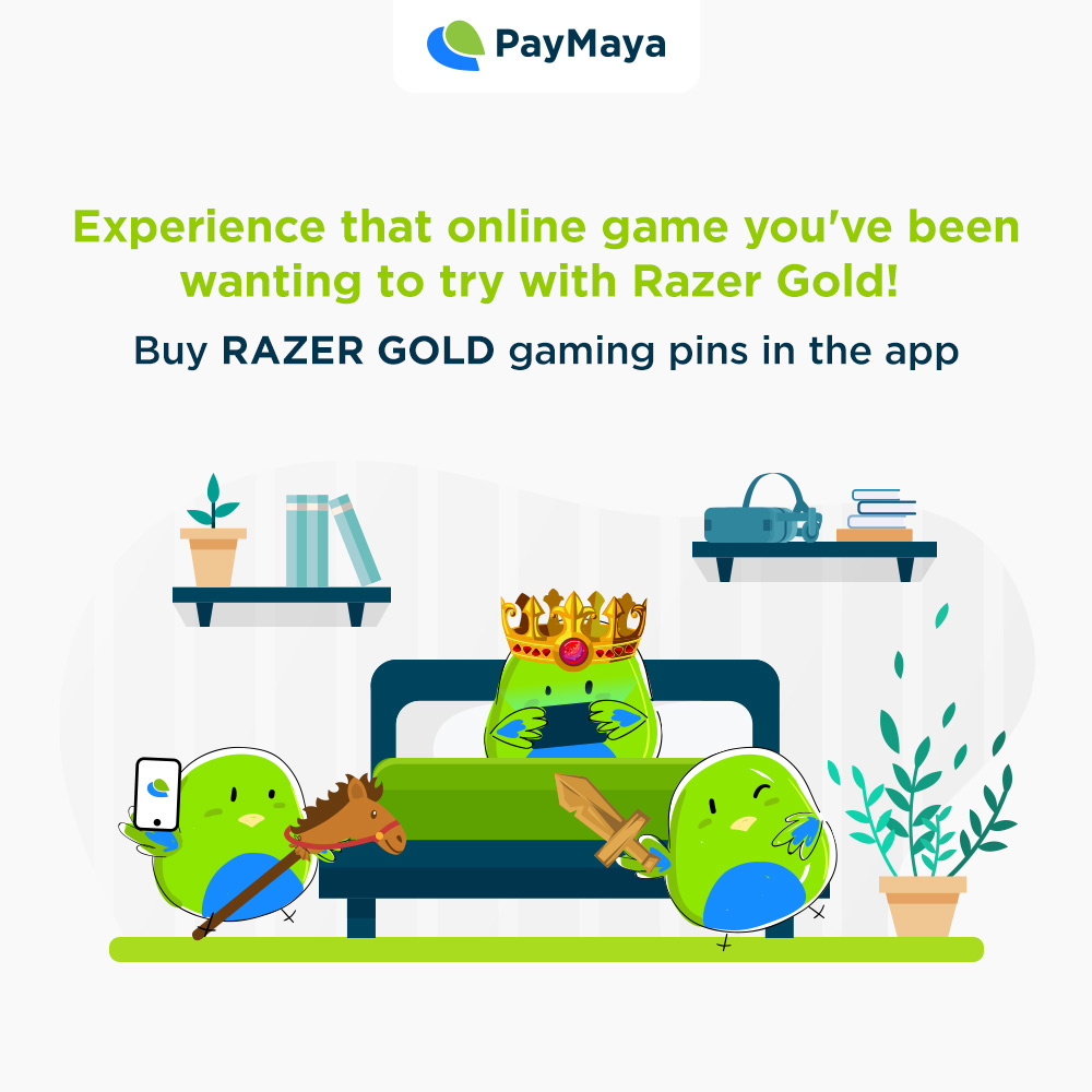 With free time now that you're at home, you can finally try that new game you've been eyeing such as Mobile Legends or Ragnarok! Level up and buy gaming pins in the PayMaya app. https://t.co/IE9bhhiwhj
