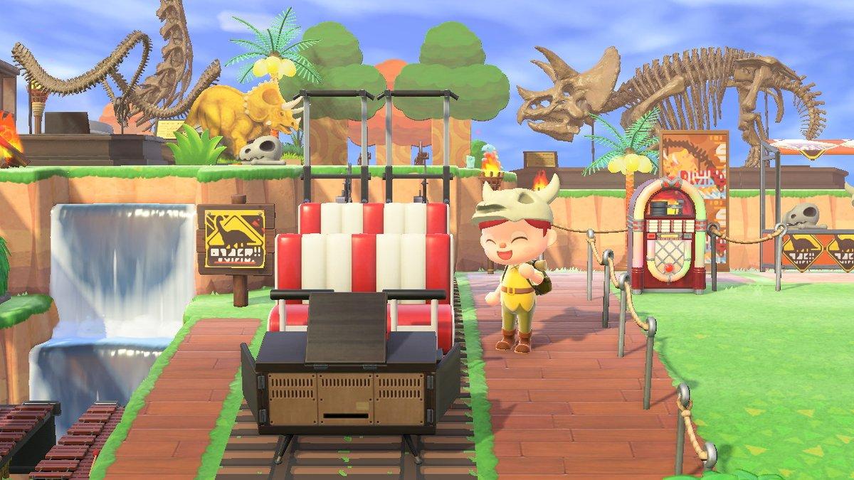 床 あつ森の 遊園地