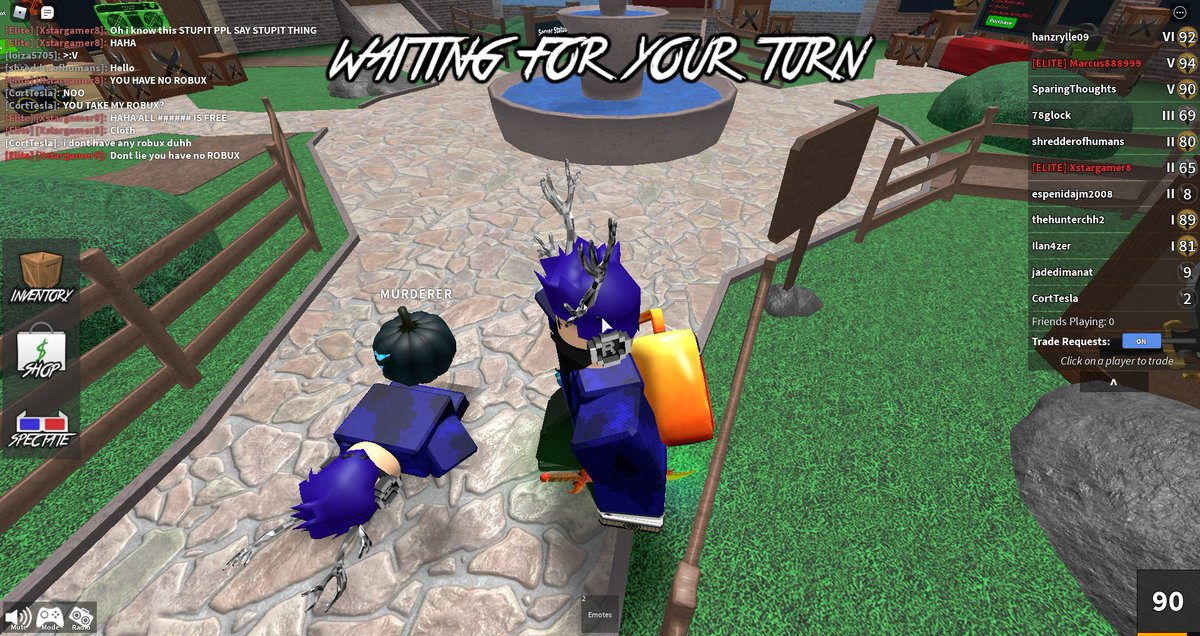 me staring right at my future...  #Roblox #MurderMystery2 <br>http://pic.twitter.com/ujUpGETsiv