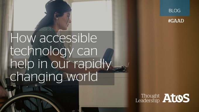 Today, we celebrate #GAAD! Accessible technology is imperative as we navigate in this changing...