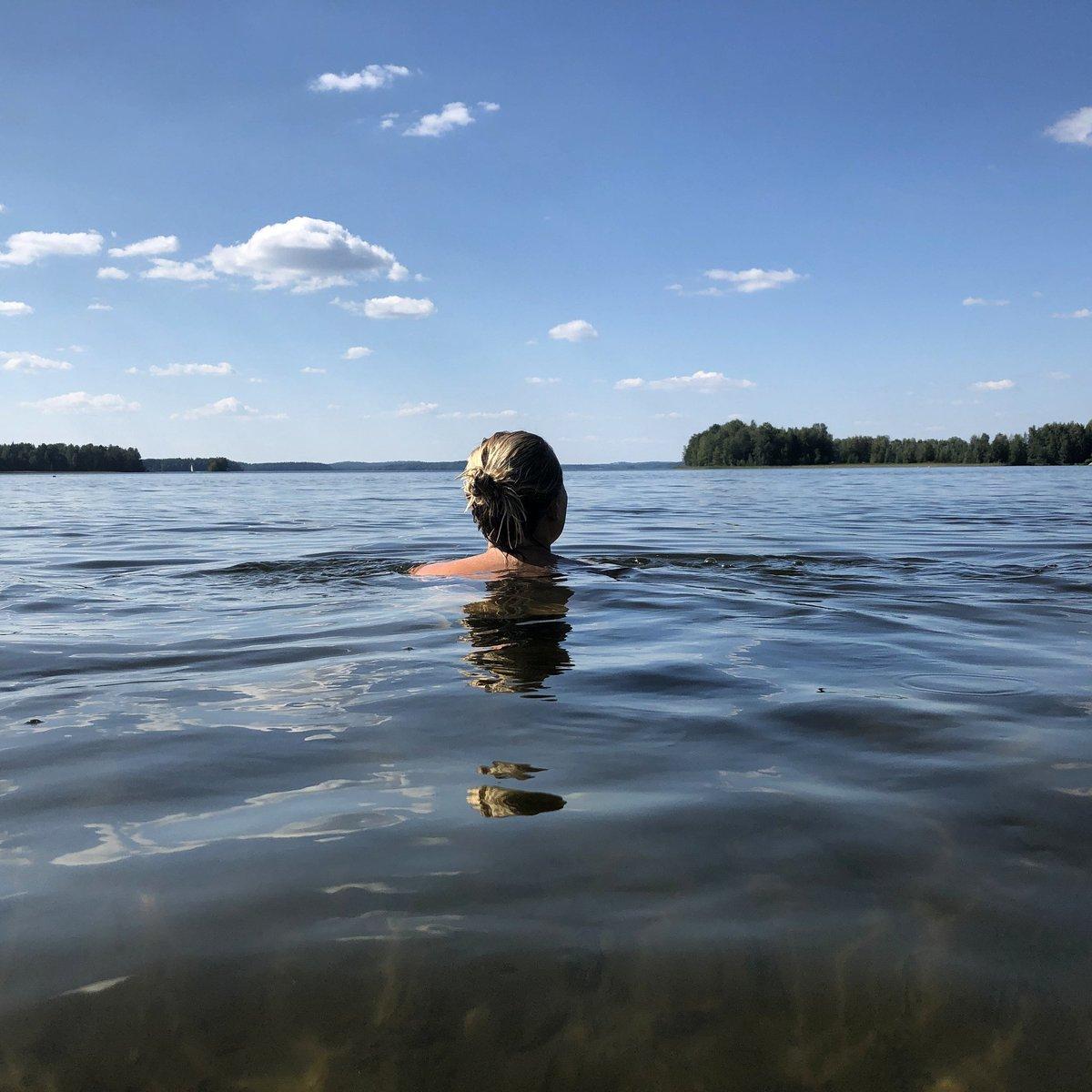 Dreaming of summer in Finland! . 📷Credit and Copyright: Raija Lehtonen – Visit Finland. #finland #visitfinland #wildswimming #finnishsummer #naturetravels