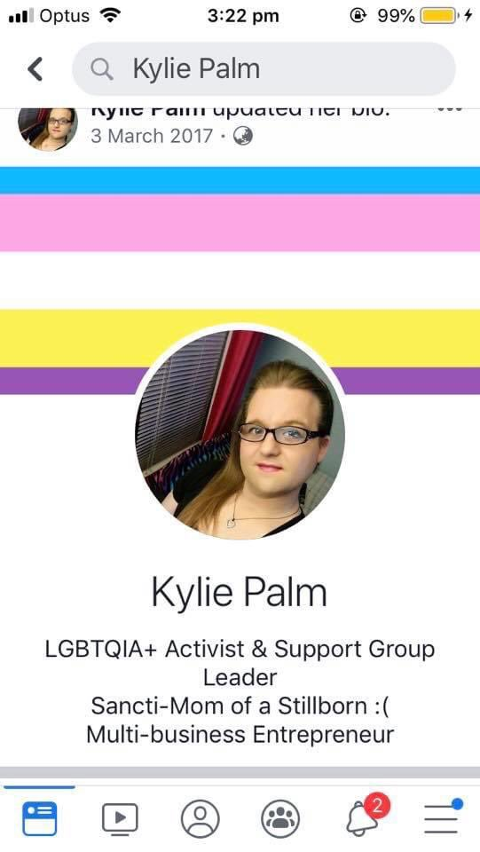 So it's #GenderWooWoo day and I'd like to share Kylie who pretended to be pregnant then pretended to have a stillbirth. Then tried to raise money for a doll to help him grieve. He was in a pg & birth group where women supported him & some were thrown out for telling the truth.