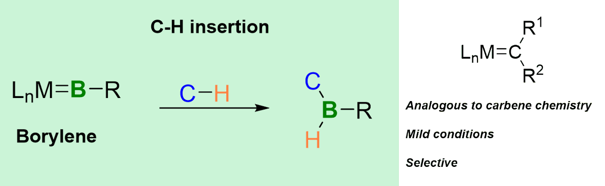Our new contribution (from the Braunschweig group) just got accepted in @ChemCommun and is already online! Check out how a borylene complex of molybdenum acts as a source of a BR fragment for insertion into C-H bonds. pubs.rsc.org/en/content/art… Congratulations to the team!