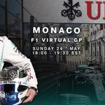 It's official... 😉 @ValtteriBottas will be hitting the streets of Monaco this weekend in the #VirtualGP 👊