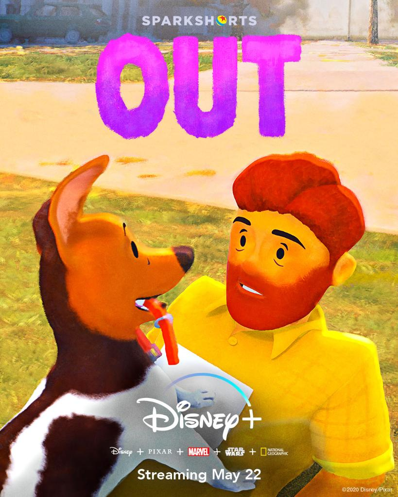 This just in from @Pixar's #SparkShorts: Out. Streaming tomorrow, May 22 on #DisneyPlus.