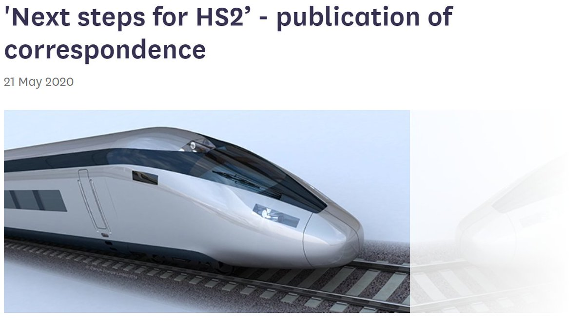 🚄Read two letters we have published on HS2 addressed to @HS2ltd and Minister for HS2 @Andrew4Pendle The letters touch upon issues of transparency, social distancing, biodiversity loss and more... 📝Find out more and read the letters here: committees.parliament.uk/committee/153/… #HS2