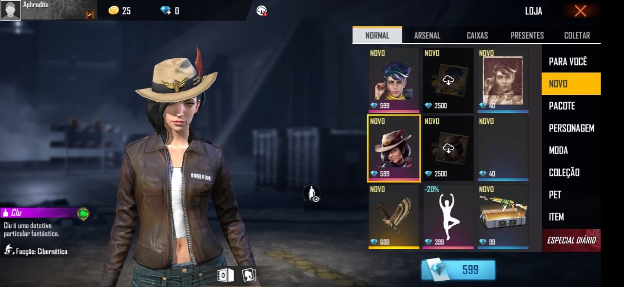 clue character in free fire wolfrahh