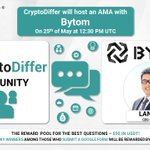 Image for the Tweet beginning: ❗️@CryptoDiffer will hold an AMA