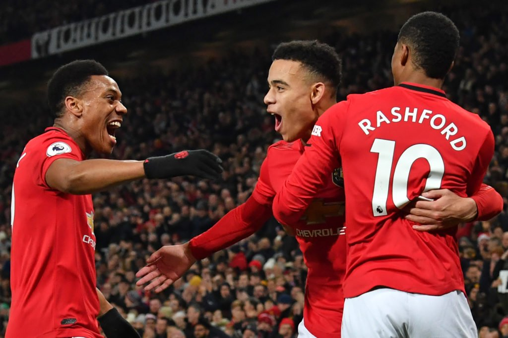 Marcus Rashford 19/20:  ⏱ – 26.2 90s ⚽ – 19 goals 🎯 – 6 assists  Anthony Martial 19/20:  ⏱ – 28.0 90s ⚽ – 16 goals 🎯 – 5 assists  Mason Greenwood 19/20:  ⏱ – 18.9 90s ⚽ – 12 goals 🎯 – 2 assists https://t.co/t2yZUOTkfb
