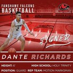 Image for the Tweet beginning: Congratulations to Dante Richards on