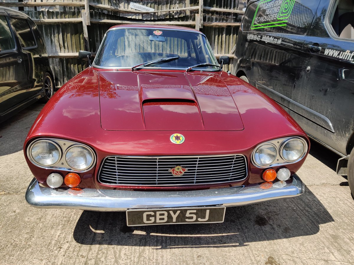 Now this is rare! A #1960s #GordonKeeble #Design by #Giugiaro of #Bertone 5.4ltr #Chevrolet #V8 seen today in #Evesham #Englandpic.twitter.com/vUPW5IjBJD