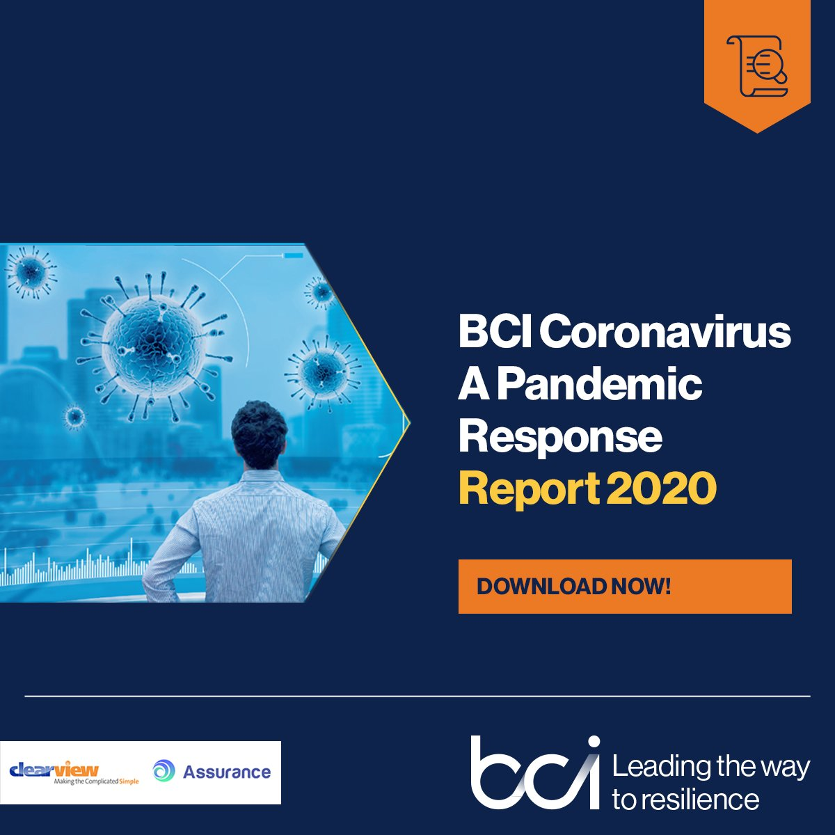 #Download our comprehensive report on the disruptive impacts of #COVID19 on organizations & the #BusinessContinuity and #resilience profession. Follow the link to get your copy:  https://t.co/DkgNWV8eUo  Sponsored by @ClearViewBCM & @AssuranceBCM https://t.co/ow61LUpWPJ