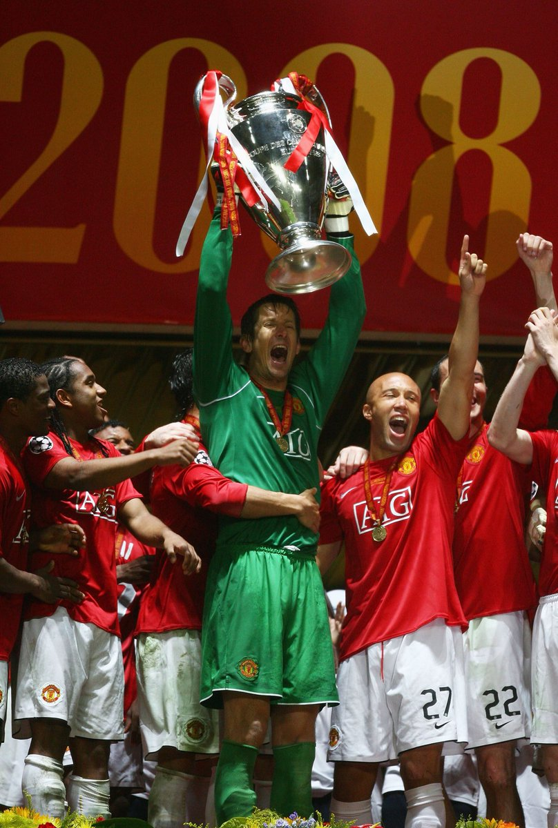 #OnThisDay in 2008! We will NEVER forget that rainy night in Moscow...😍   @ManUtd 🏆 @ChampionsLeague https://t.co/Nt8FIuUuso