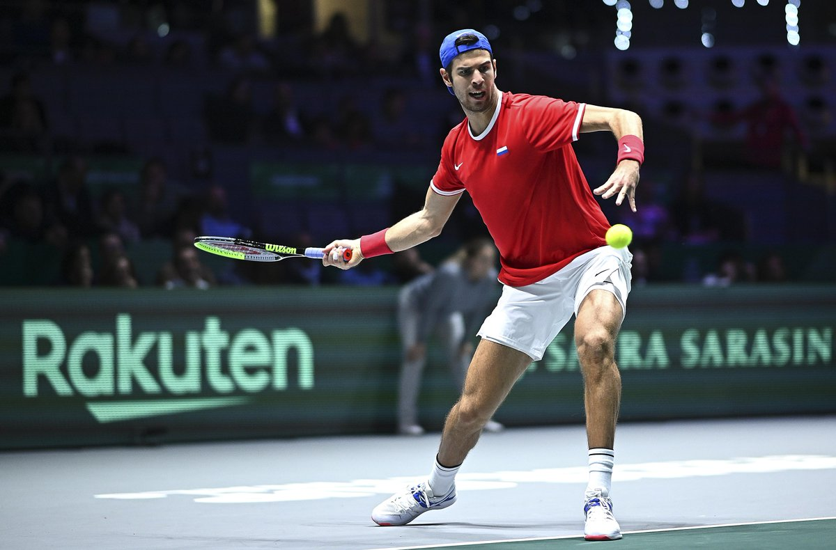 Happy Birthday @karenkhachanov 🇷🇺🥳  Can't wait to have you back on court! 🎾💪  @tennisrussia | #DavisCupFinals #byRakuten https://t.co/iW4rac3hb9