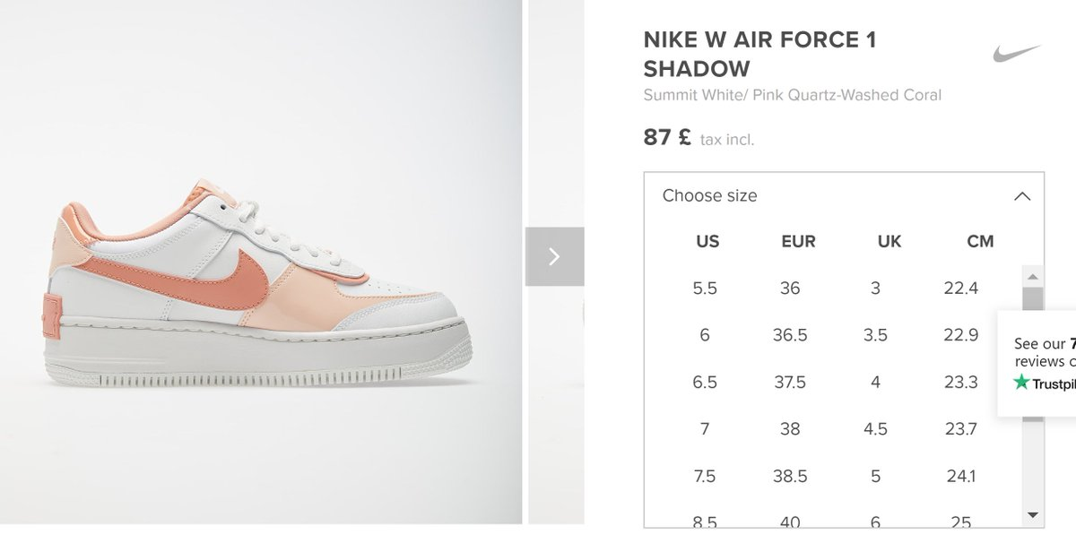 Moresneakers Com On Twitter Ad Wmns Air Force 1 Shadow Pink