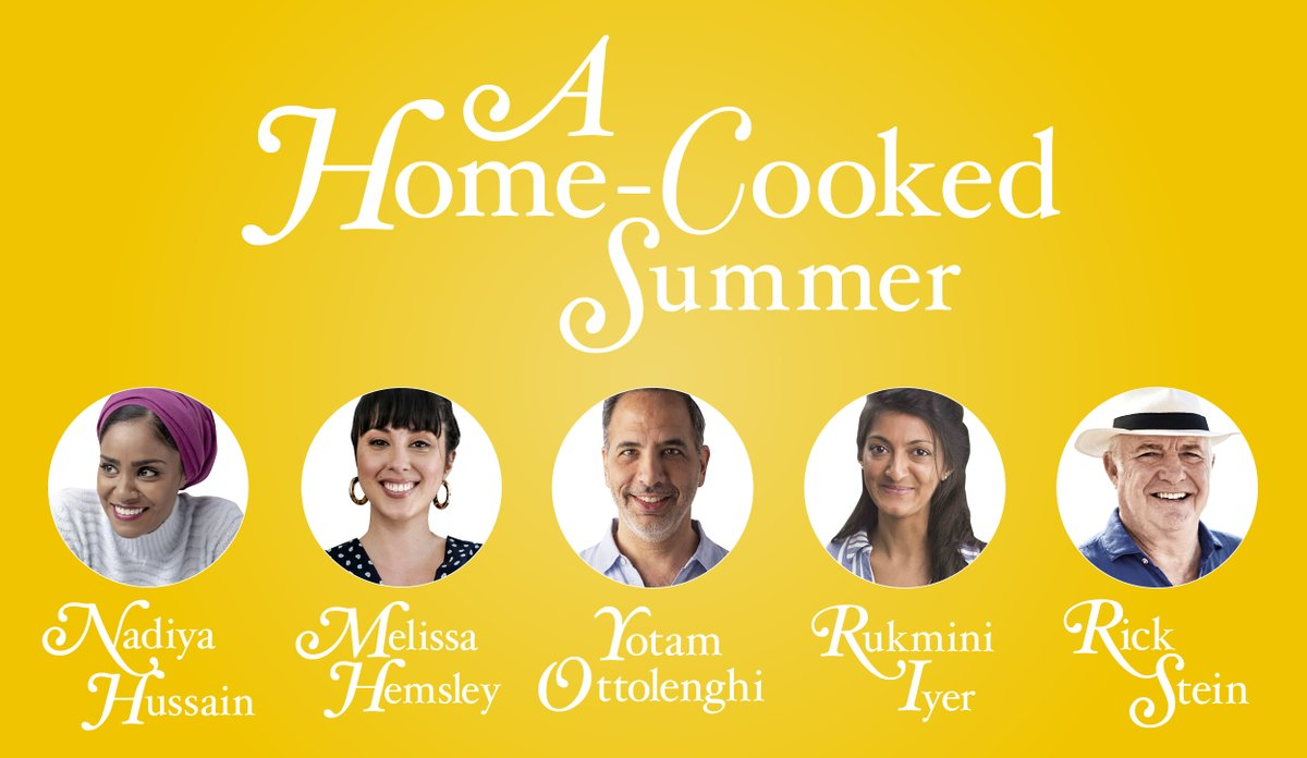 As we head into an at-home summer, we've drafted in 5 top authors to help keep your cooking fresh and exciting. A Home Cooked Summer kicks off tomorrow with @ottolenghi's 5 go-to, lockdown-friendly summer recipes. Subscribe to our newsletter for more info: https://t.co/bcNLGIcEBF https://t.co/Q8jTzNVYDR