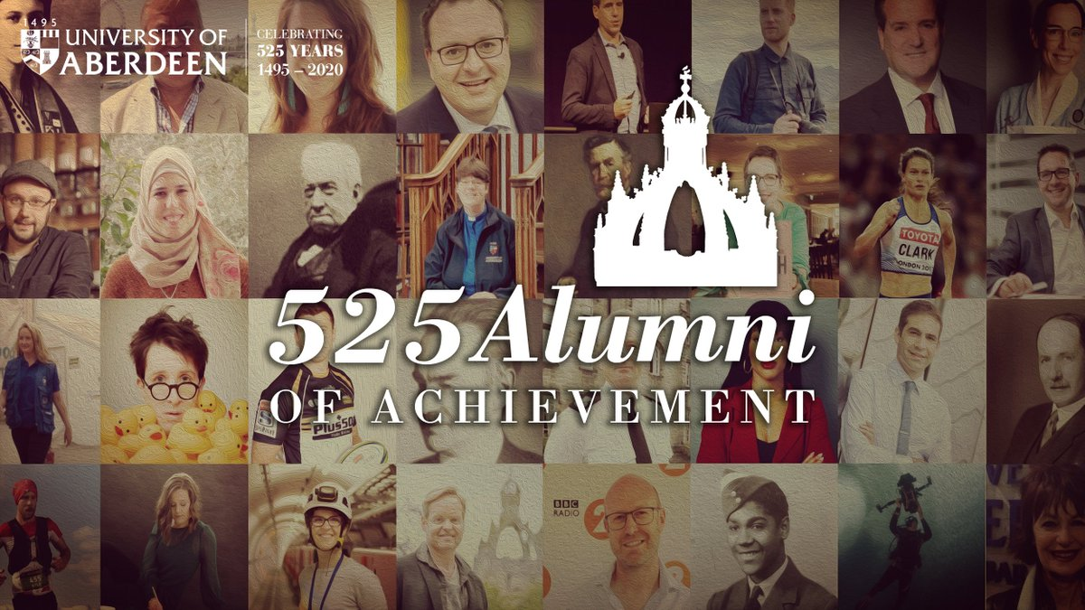 A notable graduate indeed & surely a very strong candidate for inclusion on our #525AlumniOfAchievement list! Nominations are still open - if you can think of a deserving @aberdeenuni grad who deserves to be included then submit them: https://t.co/Ae7GB2F3dq #ABDNfamily #525ABDN https://t.co/OnH4PcdxdE https://t.co/yXmyJgm4g8