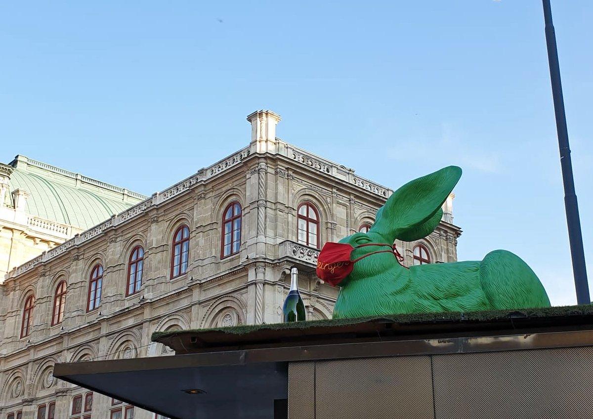 The masked hare    #Wien #Vienna #Opera #Österreich #stayhealthy #springtimepic.twitter.com/P265NC2qtv