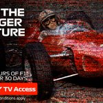 Unlock thousands of hours of races with F1 TV Access 📺  Which race are you watching first? 🤔  Offer via https://t.co/QQWl86So8m only  #essereFerrari 🔴