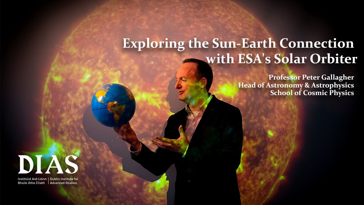 "test Twitter Media - Lockdown Lectures  Next up: ""Exploring the Sun-Earth Connection with ESA's Solar Orbiter"" with @petertgallagher   28 May at 1pm.   Registration is open... but limited places left! https://t.co/8kGyfTfR4w   #DIASdiscovers https://t.co/Zutl4hrdxf"