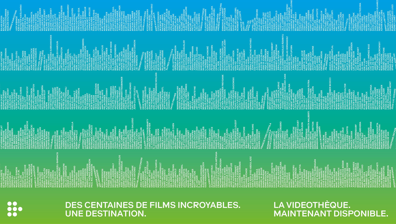Mubi liste de films sur la plateforme
