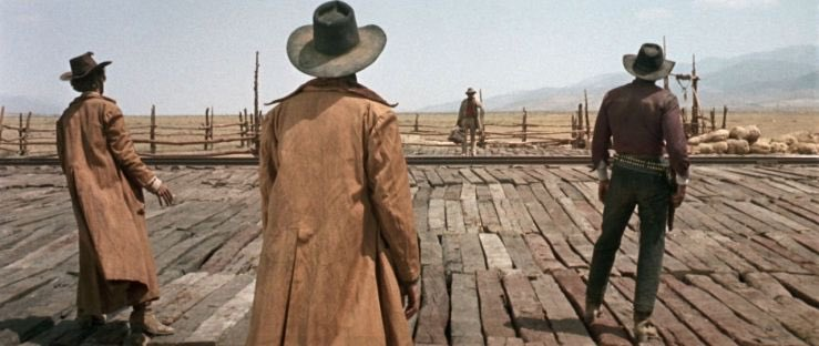 They knew how to #SocialDistance in Spaghetti Westerns! #SocialDistancing