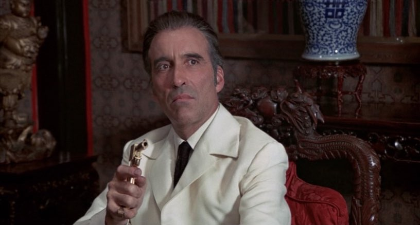 Christopher Lee is trending because great actors never truly die.
