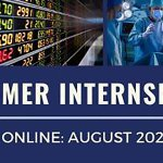 Image for the Tweet beginning: Summer internships this Summer 2020