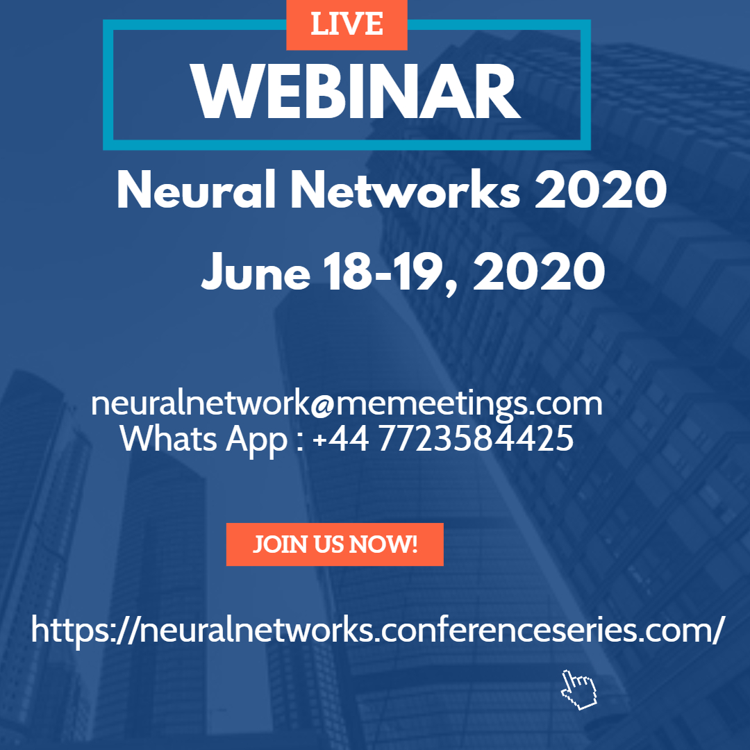 #NeuralNetworks #MachineLearning #ArtificialIntelligence #DataScience  #WEBINAR   #Submit your #article will be published in the #international conference #journalpic.twitter.com/bqrZ5V1qU2