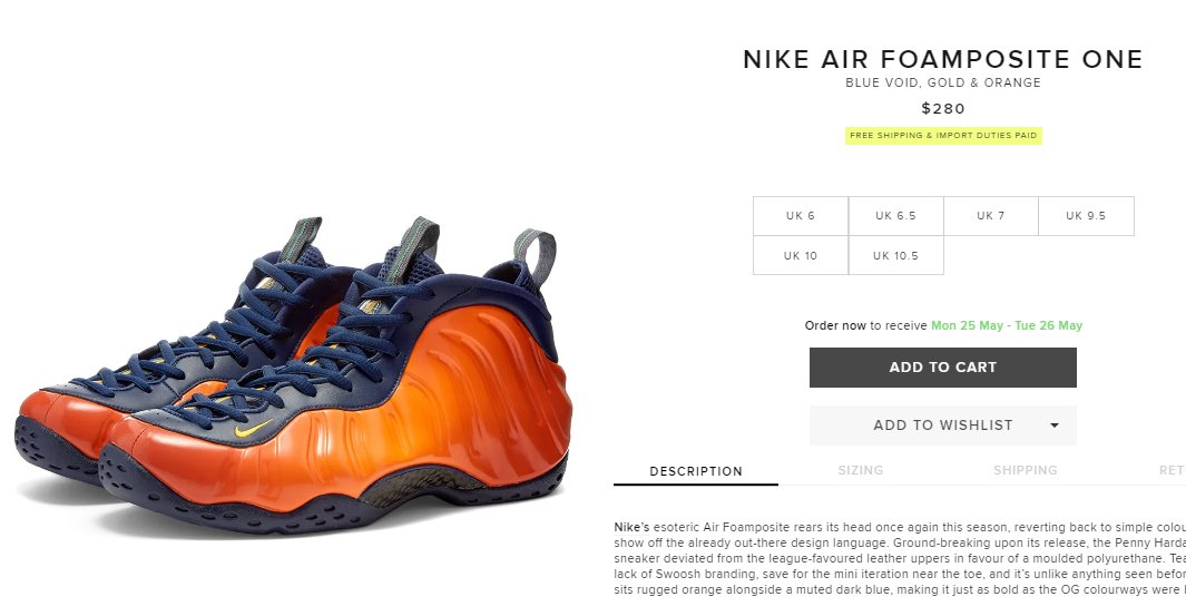 Nike Air Foamposite One Safari Release Date Complex
