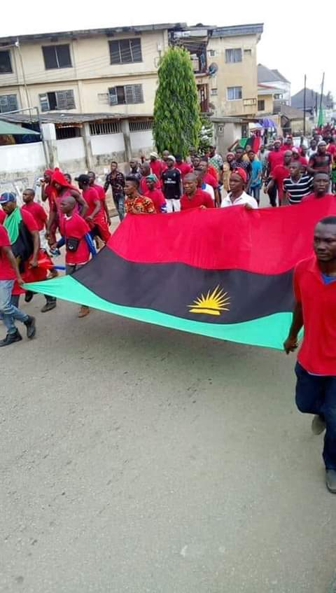 #Day Two of the Trending #BiafraExit  This should be made to Last at least one week #Biafrans Are You Ready?   Oya Let's go #BiafraExit #BiafraExit #BiafraExit #BiafraExit  #BiafraExit #BiafraExit  #BiafraExit #BiafraExitpic.twitter.com/kNhDxizECJ
