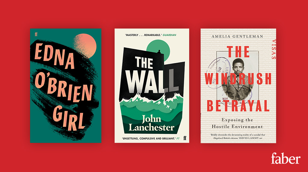 Thrilled to see three of our titles on the @TheOrwellPrize shortlist, many congratulations to Edna OBrien, John Lanchester and @ameliagentleman 🎉🎉🎉