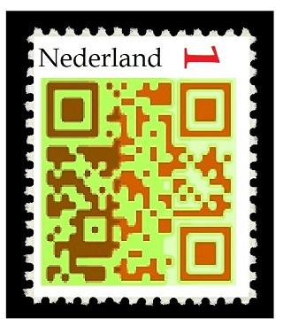 QR-codezegel