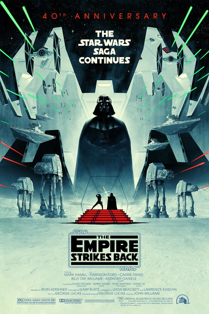 Impressive. Most impressive. Happy 40th anniversary, #TheEmpireStrikesBack! We're celebrating with this incredible new poster art by artist @Cakes_Comics. What's your favorite ESB moment? #ESB40 https://t.co/SdR02yKYAl