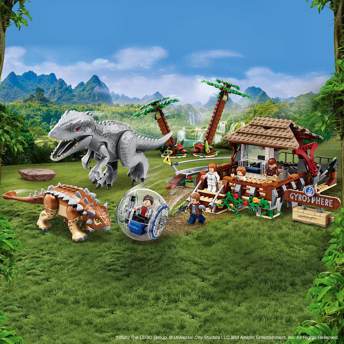 Get ready for dinosaur adventures with the new LEGO Jurassic World sets. Coming soon! #LEGOJurassicWorld #JurassicWorld