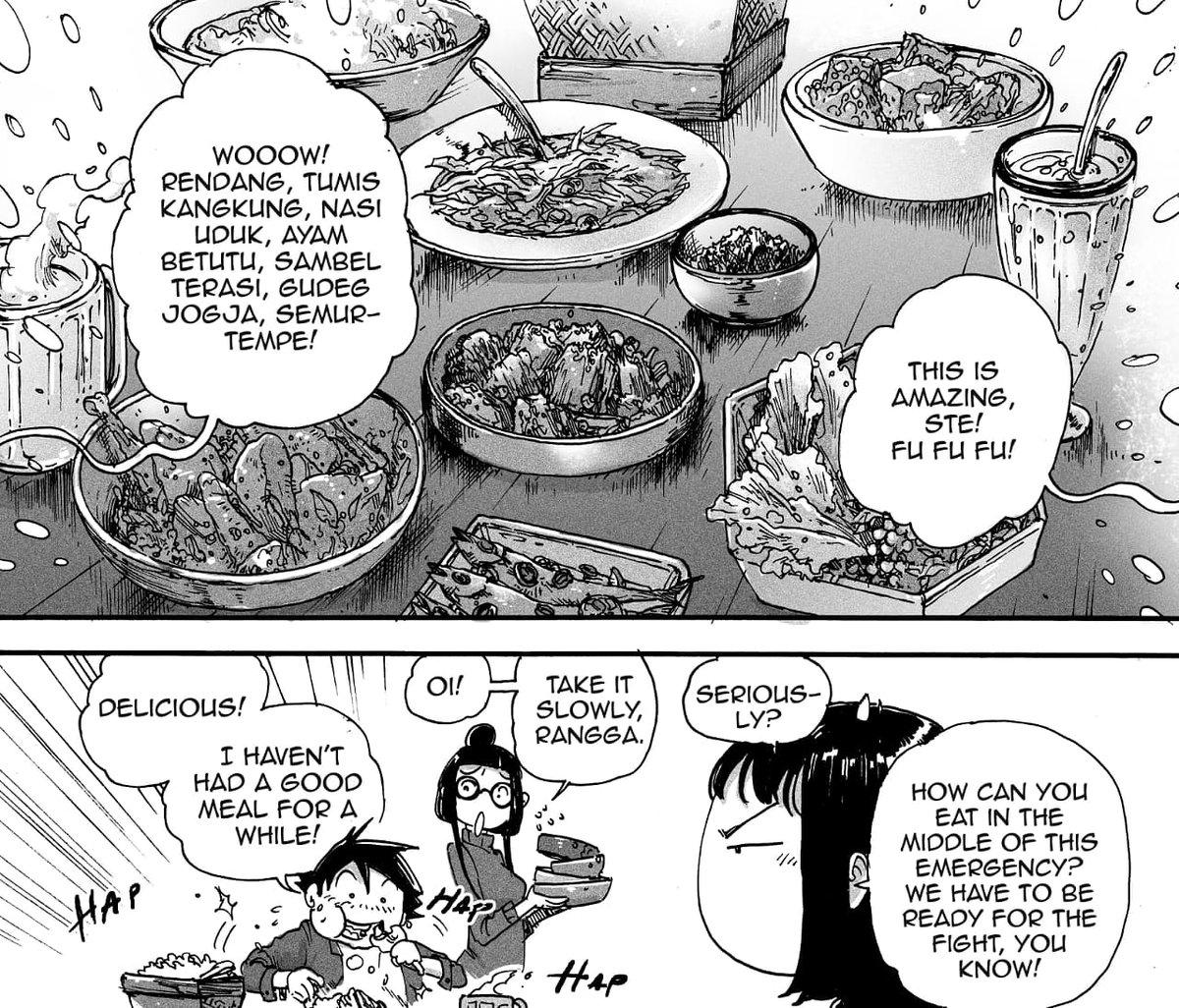 Mempopulerkan kekayaan budaya kuliner Nusantara lewat komik. Nantikan rilis volume kedua! 🙏🙏 https://t.co/NGv44S4Utu