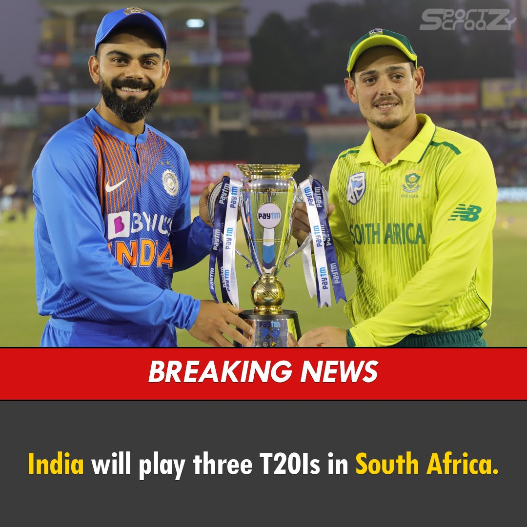 India will play three T20Is in South Africa at the end of August, provided government regulations on both sides allow the fixtures to go ahead.  #INDvSA #cricketresume  #India #SouthAfrica #lockdown #covid19<br>http://pic.twitter.com/Fqz7IrY0lt