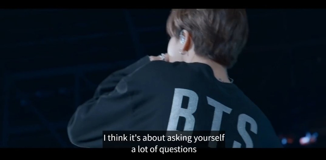 jimin said asking yourself a lot of questions is the foundation of loving yourself. 🥺💜 #BREAK_THE_SILENCE @BTS_twt