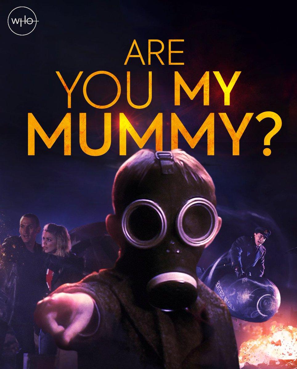 Mummy? Mummy! Mummmmmmyyyyyyy. The Empty Child's search began 15 years ago today 👇 #DoctorWho https://t.co/vBziYO1zoF