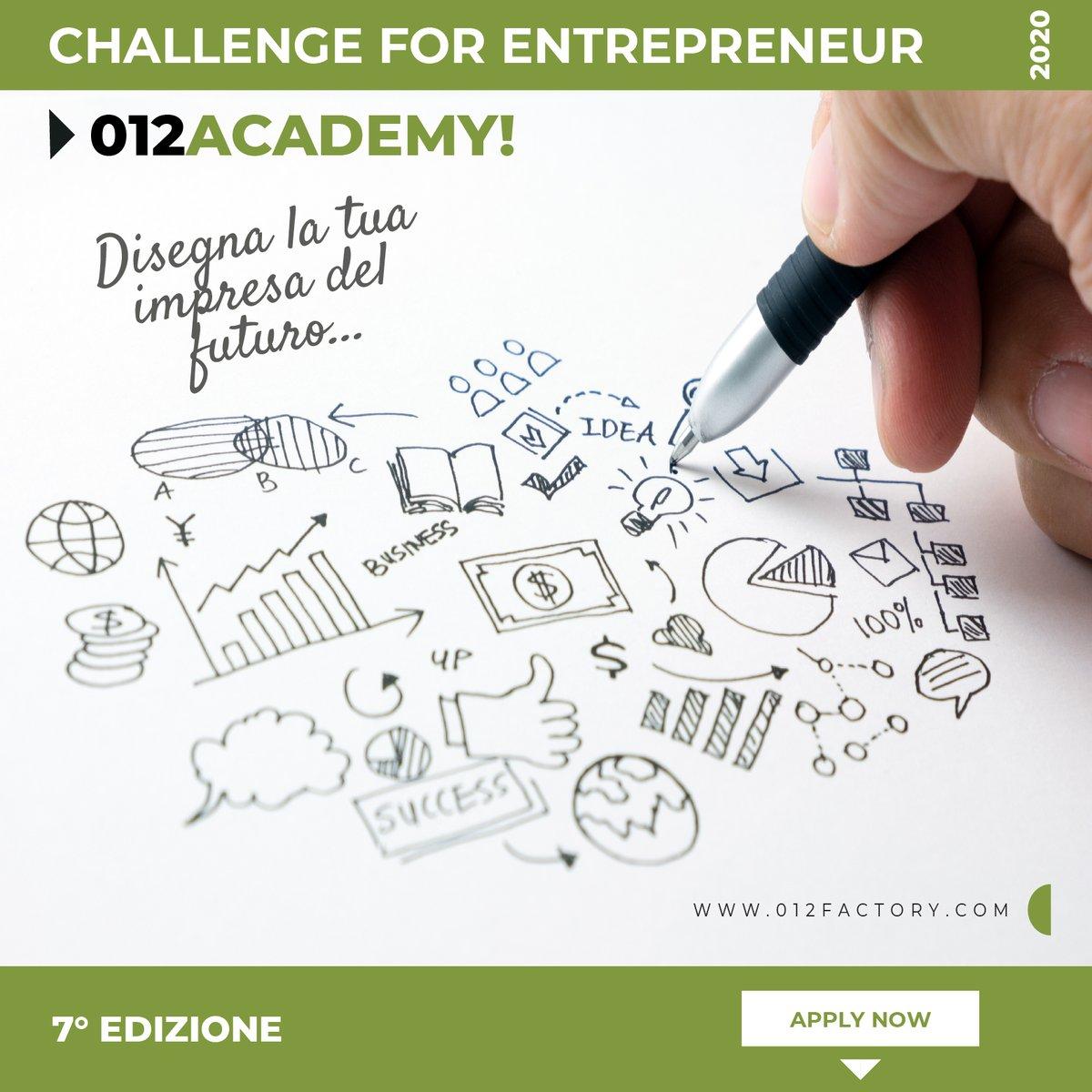 Invia la tua candidatura per la settima edizione dell'Academy imprenditoriale 012 e sarai ricontattato per un colloquio! https://t.co/FGzBLuEFBl https://t.co/eav0spftuZ