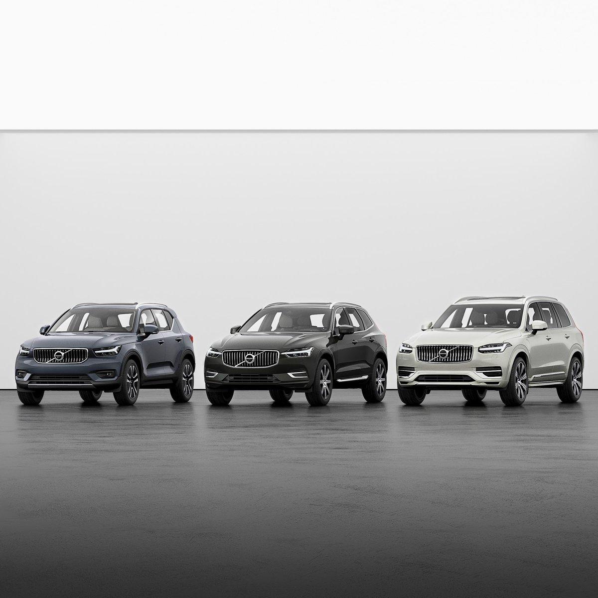Do trzech razy sztuka. Teraz trzy najlepsze modele Volvo możesz kupić w prostym systemie ratalnym: #XC40 za 400, #XC60 za 600, a #XC90 za 900 zł miesięcznie. Wybierz Volvo, jakie chcesz, z dowolną wersją wyposażenia: https://t.co/em9ujONEqY https://t.co/z3coQmvSRg