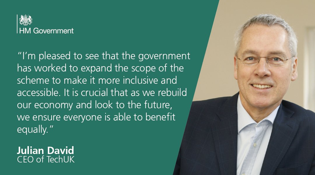 The Future Fund will support continued growth and innovation in sectors as diverse as technology, life sciences and the creative industries and has received praise from @TechUK. Read more: gov.uk/government/new…